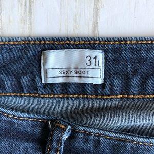 GAP Jeans - GAP 1969 Jeans Sexy Boot Cut 31T 31 Tall EUC